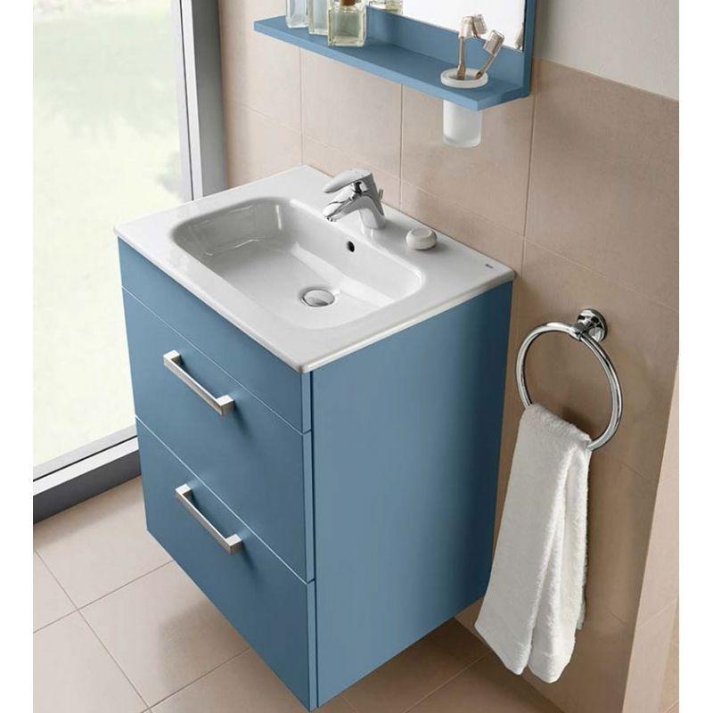 Muebles de ba o y accesorios con colores inesperados para for Accesorios cuarto de bano baratos