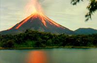 Vuelos Costa Rica: Volcan Arenal.